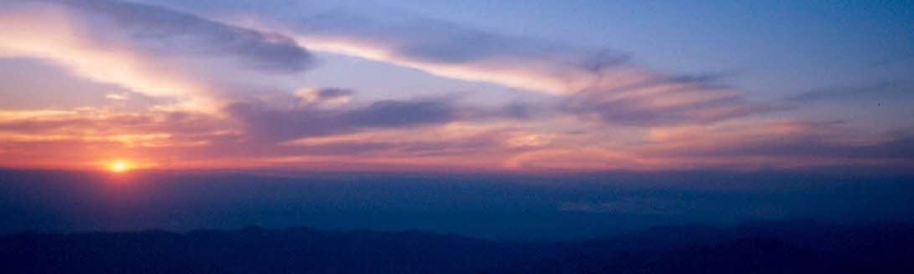 CM CDrac sunset Mt. hamilton