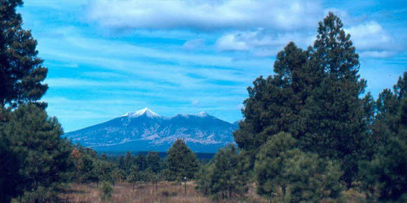 SF Peaks from flagstaff Arizona